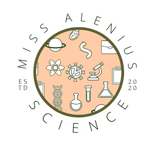Miss Alenius Science Logo